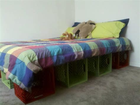 Milk Crate Bed Frame Discover And Save Creative Ideas