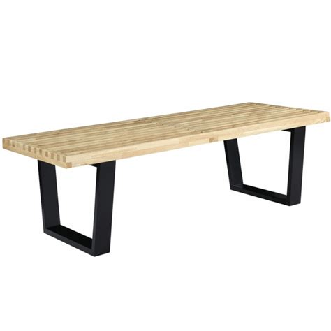 george nelson style bench george nelson platform bench nelson bench 60 quot modern in designs