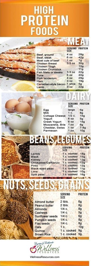 looking to up your protein intake here s a list of foods that are high in protein bariatric