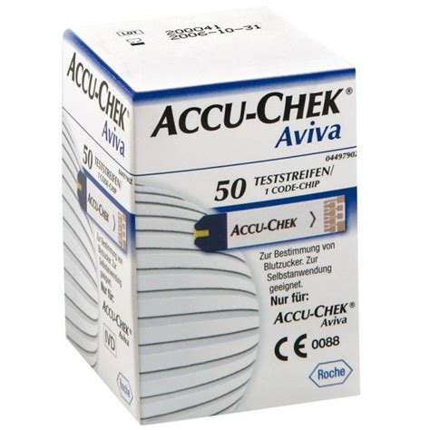 Accu Lu Emergency Roche Accu Chek Aviva Test Stripes Doccheck Shop