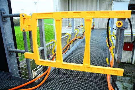 safety swing gates industrial self closing industrial safety gates i prevent drops