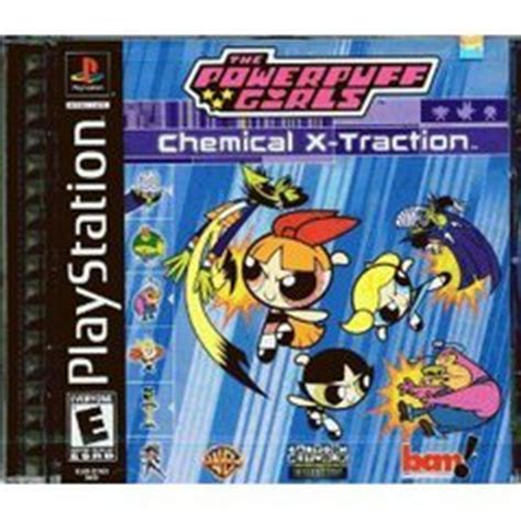 powerpuff girls chemical x traction prices playstation