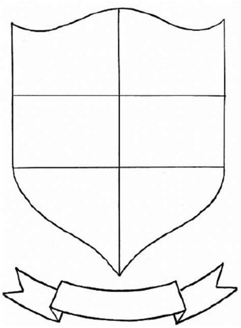shield template pdf tudor knights and coats of arms by mike ennington