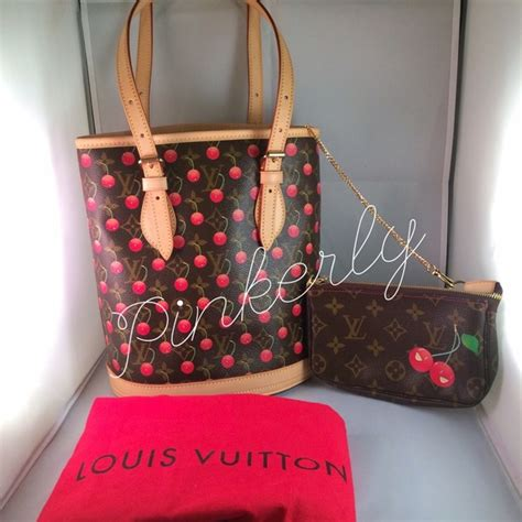 Louis Vuitton Louis Vuitton Murakami Cherry Blossom Cerises Sac Plat Handbag by Louis Vuitton Louis Vuitton Murakami Cerises Cherry