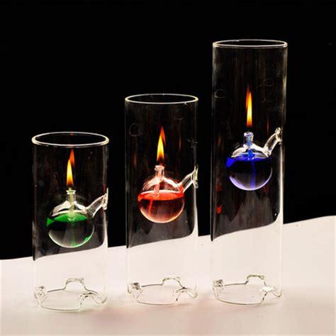 Candle Accessories Glass Handmade Creative Transparent Glass Bottom Cylinder