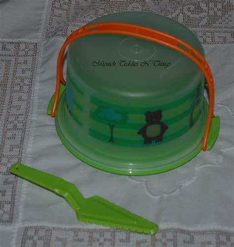 Cake Taker Mini Tupperware tupperware eco cake taker server set ebay