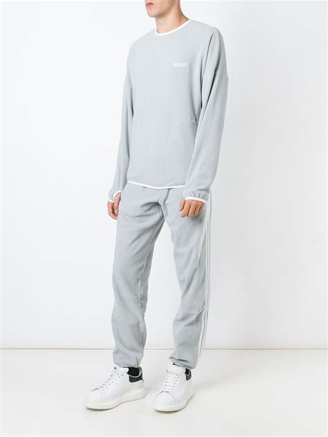 Adidas X By O Shorts Grey Originals adidas originals x palace fleece joggers in gray for lyst