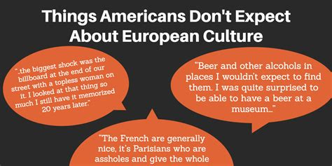 europes natural and cultural 17 ways americans are shocked by european culture destination tips
