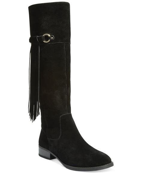 inc international concepts s fayer fringe boots