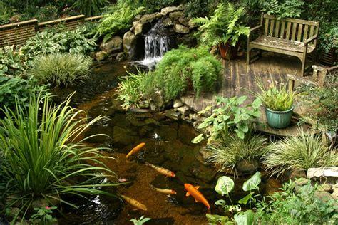 beautiful backyard ponds beautiful garden pond ideas orchidlagoon com