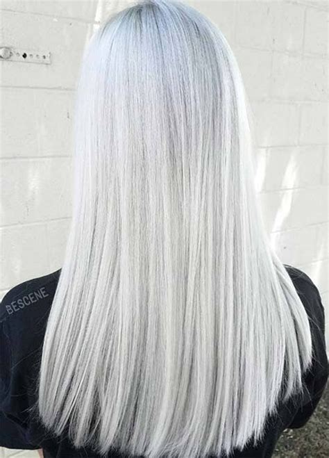 Wig Ombre Ashgrey best 25 gray hair colors ideas on which is
