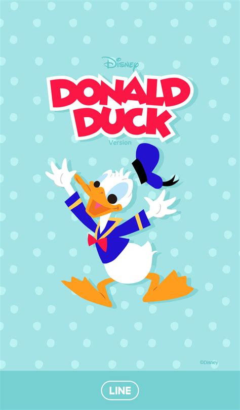 tema line android donald duck cm hacked new line theme shop donald duck polka