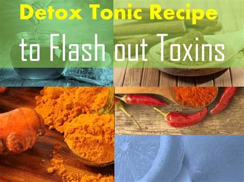 Lifetime Fitness Detox Recipes by Follow This Detox Tonic Recipe At Home To Flash Out Toxins