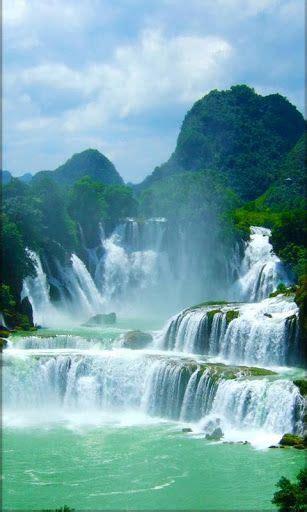 attractive  waterfall  wallpaper hd image
