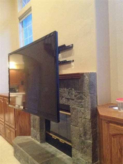 mounting a tv a fireplace hanging tv fireplace no studs home design ideas