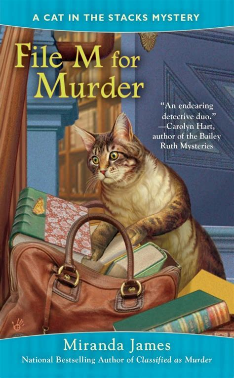 purr m for murder a cat rescue mystery books book review file m for murder by miranda