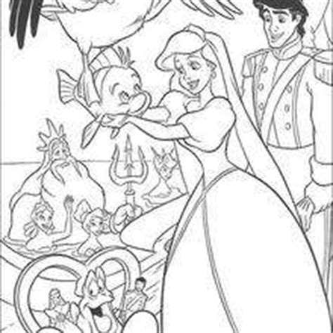 little mermaid wedding coloring pages the little mermaid coloring pages 32 free disney