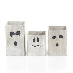 Gold Candles Hocus Pocus by Gold Mini Ghost Towers Set Of 3 Wood All