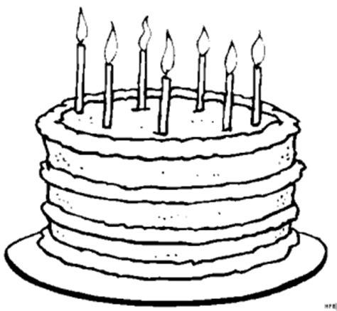 kuchen zeichnung kuchen mit kerzen ausmalbild malvorlage comics