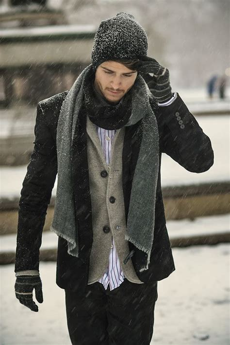 32 masculine ways to wear a scarf for ideas hq