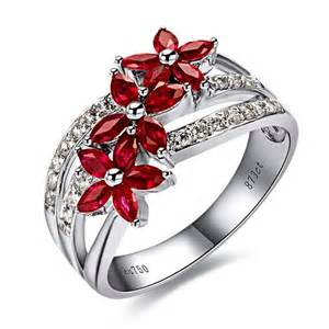 ruby wedding ring luxurious ruby and engagement ring on 18k white
