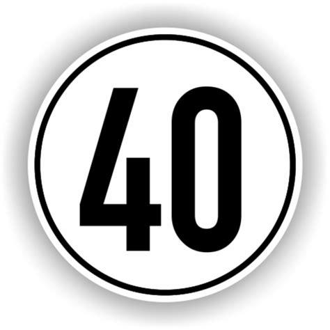 Motorrad Anh Nger Gr Ne Nummer by Geschwindigkeitsschilder Nach 167 58 Stvzo 40 Km H Brewes