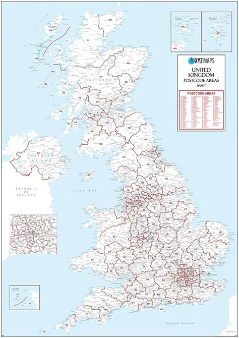 Post Office Address Finder Uk Map Of Uk Postcodes Uk Map With Postcode Areas Map Logic