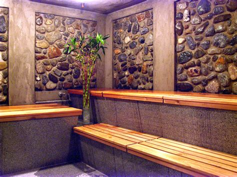 what to wear to a steam room by spa steam room o so chic