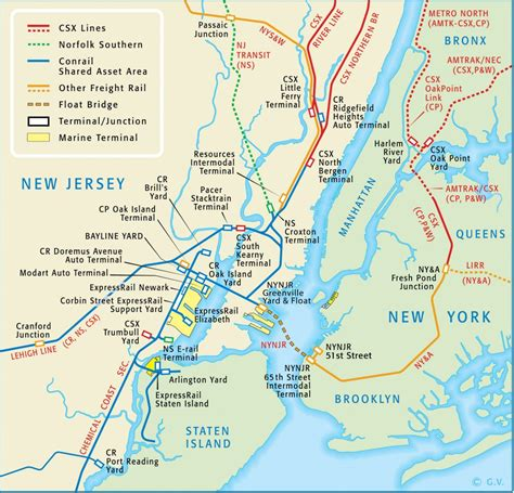 map of new jersey and new york route map new york new jersey rail llc