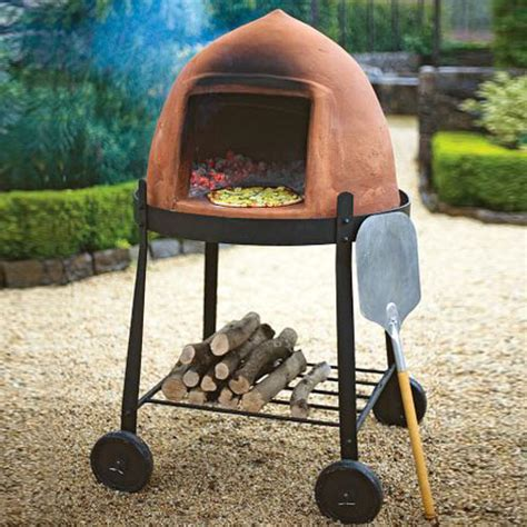 backyard accessories beehive wood fire pizza oven the green head