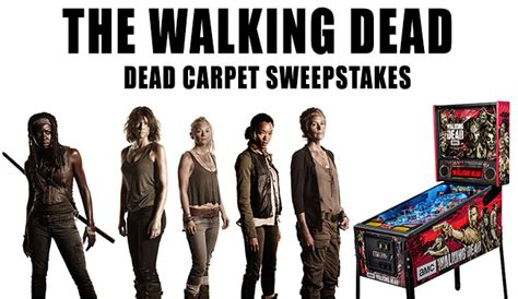 Twd Sweepstakes - the walking dead dead carpet sweepstakes l7 world