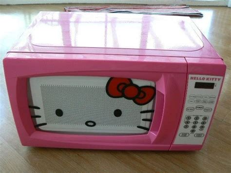 Microwave Hello hello pink microwave oven kitchen household mw 07009