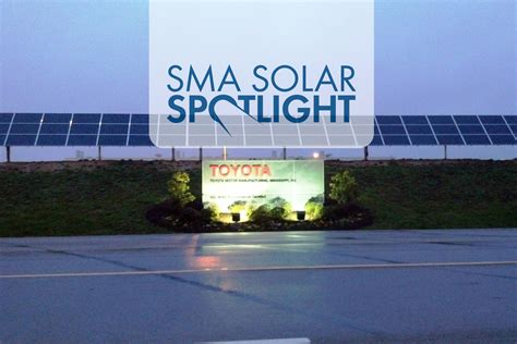 toyota motor manufacturing mississippi solar spotlight toyota plant flips the switch on new