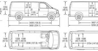 superb cargo interior dimensions 3 chevy express