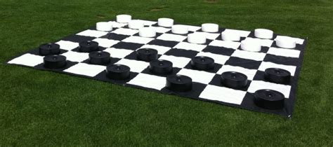 giant checkers lawn game rental national event pros