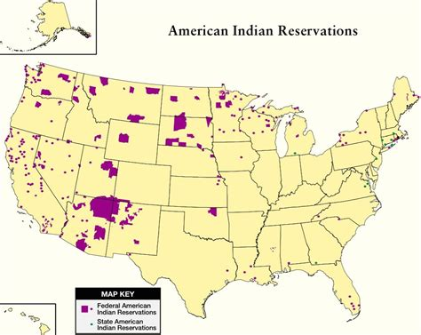 indian reservations usa map us geography abagond