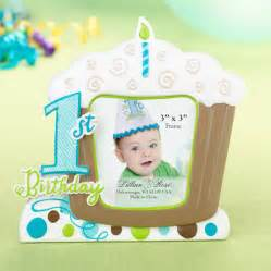 1st Birthday Party Decorations At Home 1st birthday frame blue 1st birthday favors amp supplies