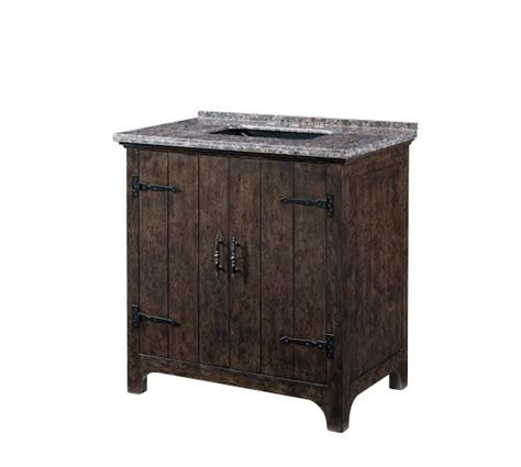 Distressed Bathroom Vanities by 36 Inch Single Sink Bathroom Vanity With A Distressed Wood Finish Uvlklk3328
