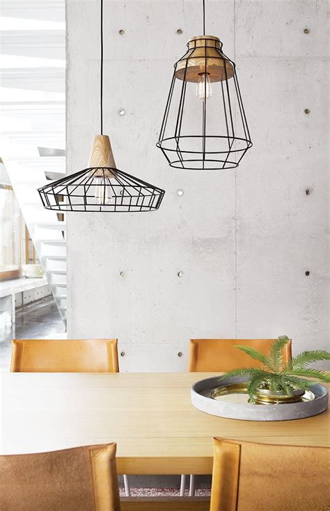 Kitchen Pendant Lights Beacon The Beacon Lighting Reuben 1 Light Large Black Wire