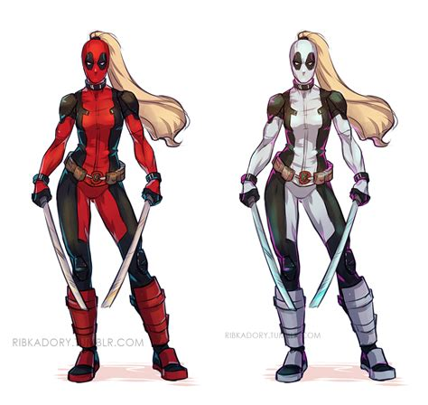 Black And Red Design by Ladypool By Ribkadory On Deviantart