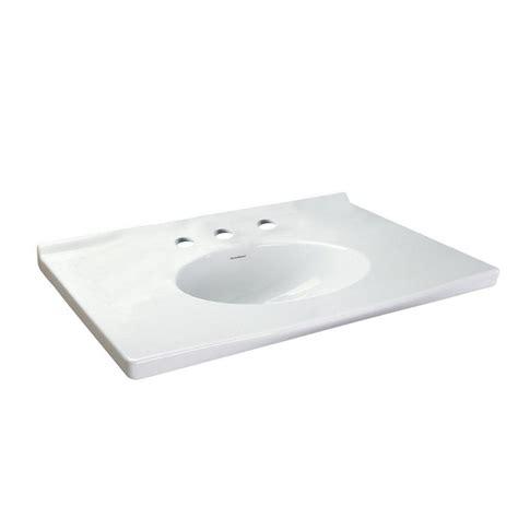 American Standard Vanity by American Standard Portsmouth 31 In Vanity Top In White