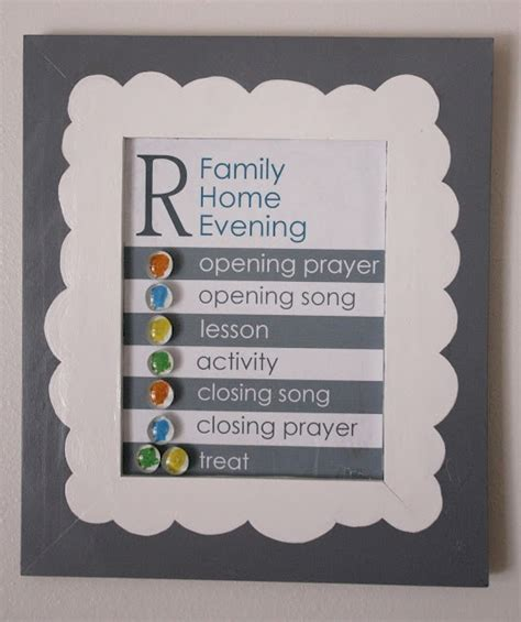 magnetic family home evening board what a smart and chic
