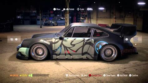 porsche nfs 2015 need for speed 2015 porsche rwb build