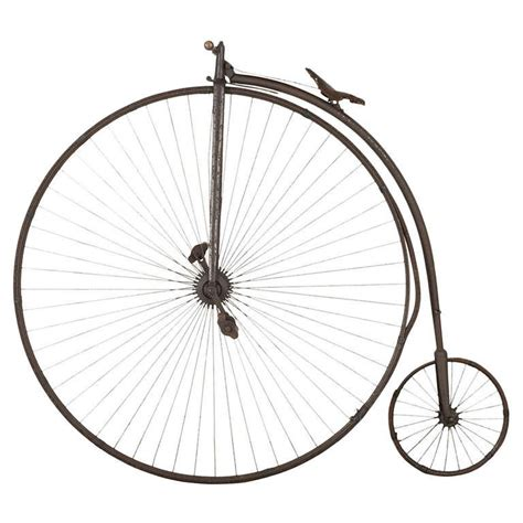 English Tudor Home by Original Penny Farthing Bicycle At 1stdibs