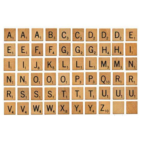 Items Similar To Scrabble Tiles Digital Print Out On Etsy