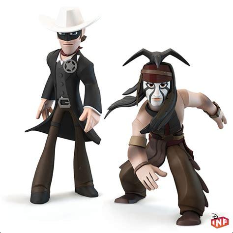 disney infinity figure lone ranger play set w tonto ebay