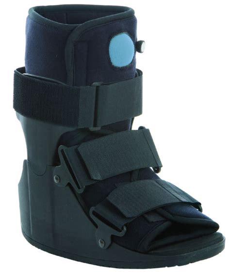 low top walking boot
