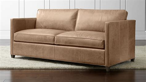 Crate And Barrel Sofa Sleeper by Dryden Leather Sleeper Sofa Libby Crate