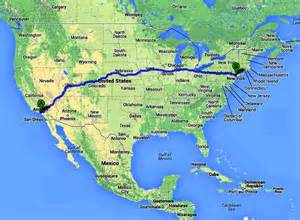 new york to los angeles by car usa los angeles to new york electric vehicle endurance