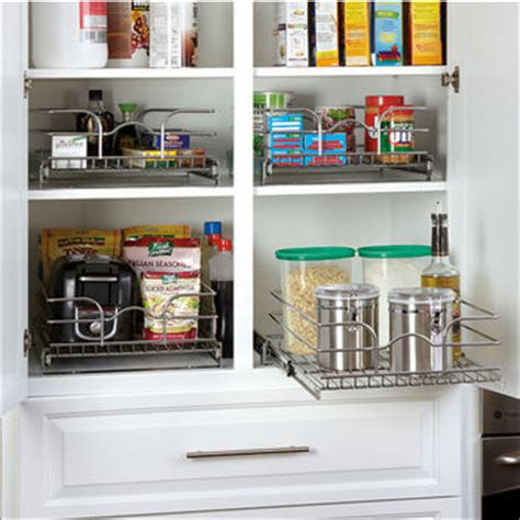 Wire Pull Out Pantry Shelves by Pantry Pullout Shelves And Baskets View And Reach Items